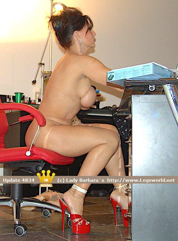 Speaking, Lady barbara naked